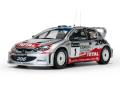 SunStar/サンスター プジョー 206 WRC  2002  R.Burns / R.Reid