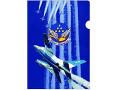 リゲン貿易 3D クリアファイル ブルーインパルス 01 A4サイズ