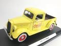 MOTORCITY CLASSICS Coca-Cola フォード ピックアップ 1937 イエロー
