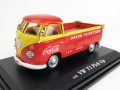MOTORCITY CLASSICS VW ピックアップ 1962 オレンジ/イエロー