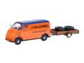 Schuco/シュコー DKW Schnelllaster Bussing-Kundendienst タイヤ積載トレーラー付