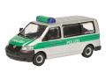 Schuco/シュコー VW T5 ポリスカー グリーン/シルバー