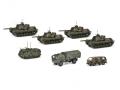 Schuco/シュコー ドイツ連邦軍 セット M48G×4 M113×1 MAN St GL×1 VW Bus T3×1