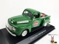 MOTORCITY CLASSICS フォード F1 ピックアップ 1948 グリーン ハンドカート ボトルケース2個