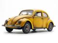 SunStar/サンスター VW ビートル サルーン 1961 Bee イエロー ( 古錆バージョン )
