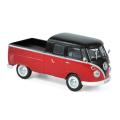 NOREV/ノレブ VW T1 ダブルキャビン 1961 レッド/ブラック
