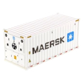 DIECAST MASTERS 20' 冷蔵コンテナ  MAERSK (ホワイト)