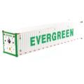 DIECAST MASTERS 40' 冷蔵コンテナ  EverGreen (ホワイト)