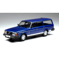 ixo/イクソ ボルボ 240 ポラール 1988 メタリックブルー