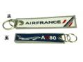 Kool Krew/クールクルー キーチェーン  エールフランス「 I LOVE A380」