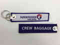 Kool Krew/クールクルー キーチェーン ハワイアン「CREW BAGGAGE」