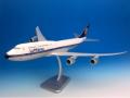 HoganWings/ホーガンウイングス ルフトハンザドイツ航空 747-8 RETRO ギアなし、スタンド付属