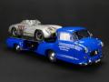 CMC/シーエムシー メルセデス カートランスポーター 1955 +300SLR No.701汚れ塗装仕様