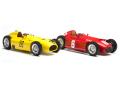 CMC/シーエムシー フェラーリ D50 ベルギーGP #20 イエロー ランチア D50 トリノGP #6 レッド