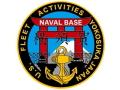 彫金アート ステッカー アメリカ海軍 横須賀海軍施設