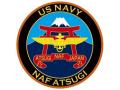 彫金アート マグネット  NAF ATSUGI 米海軍厚木基地