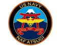 彫金アート ステッカー NAF ATSUGI 米海軍厚木基地