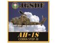 彫金アート ステッカー 陸上自衛隊 AH-1S コブラ