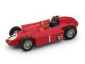 BRUMM/ブルム フェラーリ D50 1956イギリスGP優勝 #1 J.M. Fangio フィギュア付