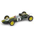 BRUMM/ブルム ロータス 25 1963年イタリアGP 1位 #8  J. Clark  フィギュア付