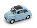 BRUMM/ブルム フィアット 500D 1962-1963 PERVINCA ブルー /インテリア ブルー アイボリー