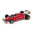 BRUMM/ブルム フェラーリ 126C ターボ 1980年イタリアGP #2 G.Villeneuve