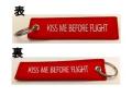 LIMOX/リモックス キーチェーン: KISS ME BEFORE FLIGHT