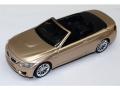 CMC TOY/シーエムシートイ BMW M4 Cabrio S・ゴールド プルバックカー
