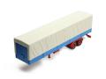 ixo/イクソ トラック トレーラー キャンバスカバー グレー/ブルー