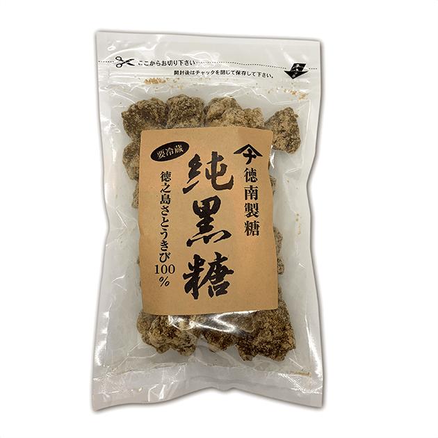 【メール便対応】徳南製糖 純黒糖[300g]