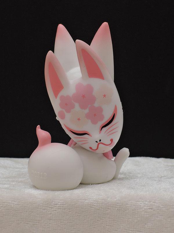 あそび研究所365:花色子ぎつねマスコット