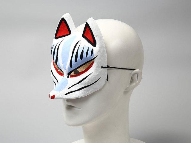 房本デザイン工芸:半狐面(小)