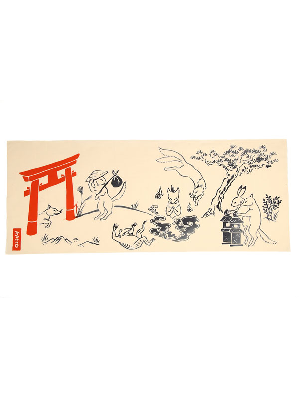 GalleryKACCO:狐戯画 手拭い