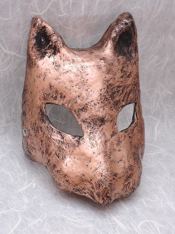 狐マスク メタル
