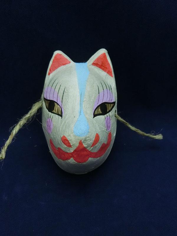 カサマヤ物産:和紙面 キツネ
