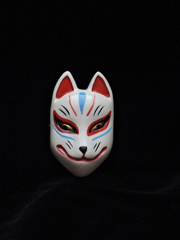 カサマヤ物産:狐面マグネット