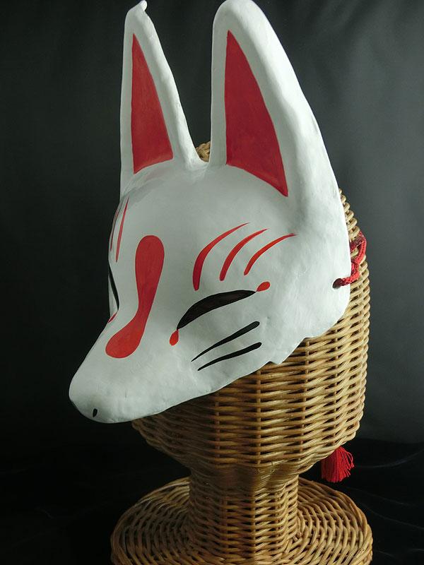 半狐面「白」