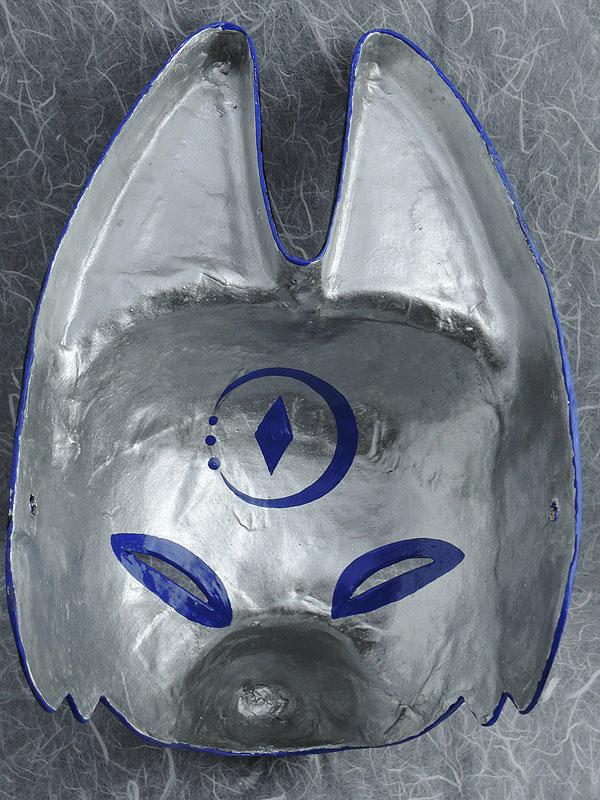 半狐面「月」