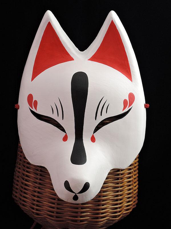 半狐面「白宵」