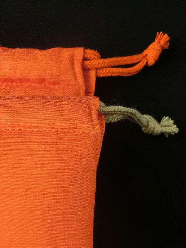 狐巾着「宝狐」(狐面用)