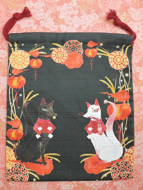 狐面堂:狐巾着「守護狐」(中)