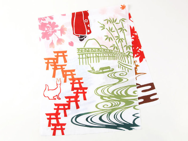 手拭い「京都」