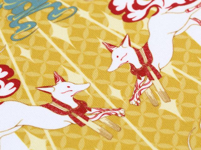 めがねふき「アマツキツネ白狐」
