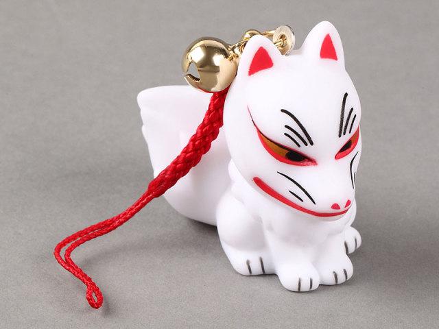 人形すくい 狐(座り)