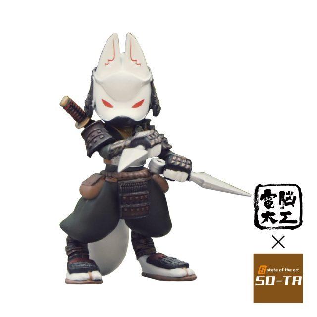 電脳大工 三頭身 忍者狐 狐獣人×忍