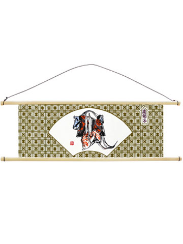 戸田屋商店:檜タペストリー棒(手拭い用・横)