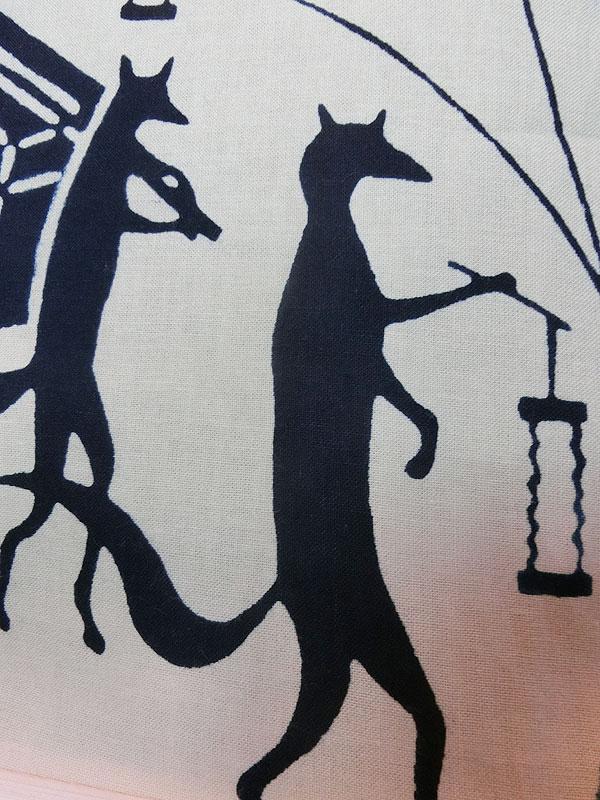 戸田屋商店:狐の嫁入り手拭い
