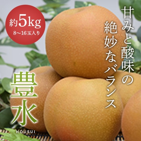 【豊水】8~16玉入り(秀)