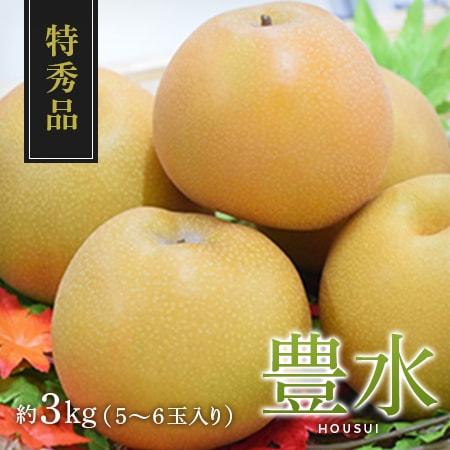 【特秀品】豊水 5~6玉入り