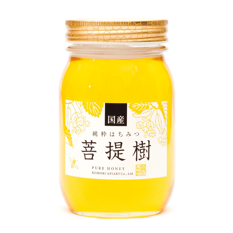 国産ぼだいじゅ蜂蜜 600g